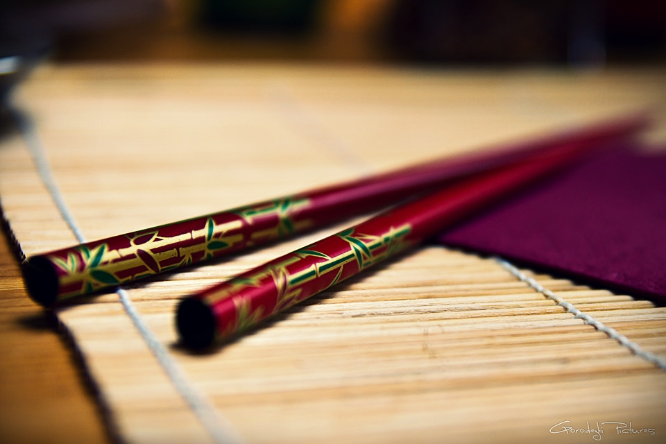 Photograph Chopsticks by Feingeist Photography on 500px