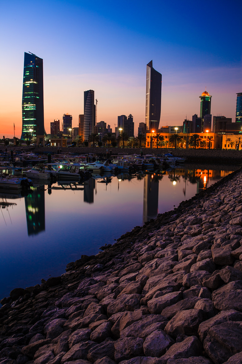 Photograph Blue Hour In Kuwait by Fahad Al-Thekair on 500px