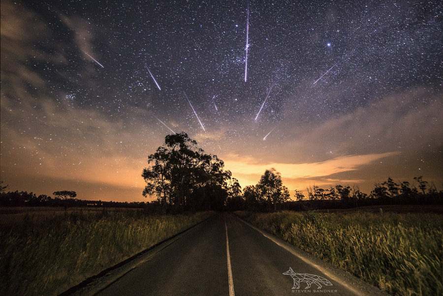 Geminids in Australia by Steven Sandner on 500px.com