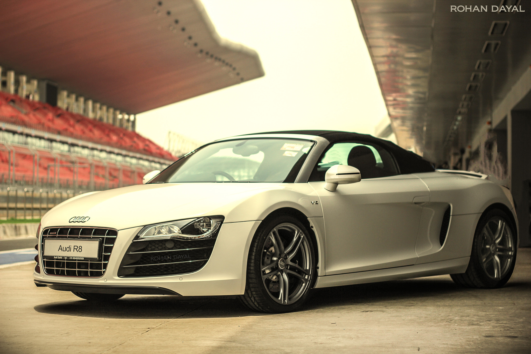 Photograph Audi R8 Spyder. by Rohan Dayal on 500px