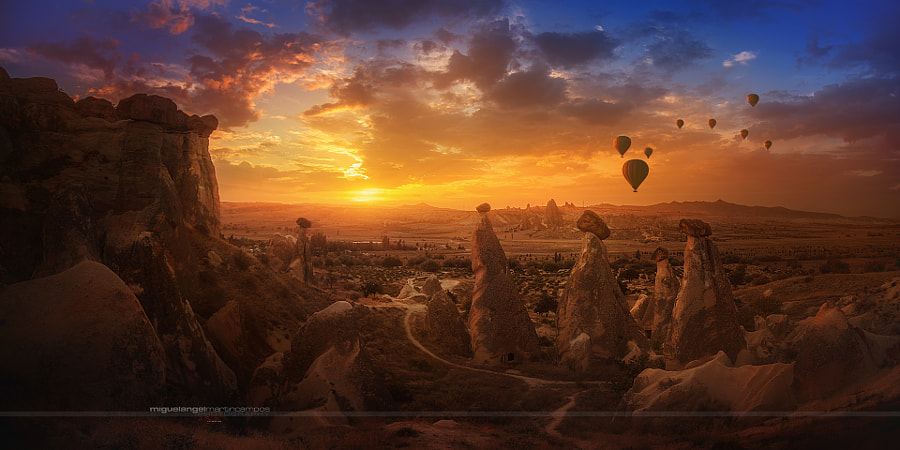 Capadocia Balloons by Miguel Angel Martín Campos on 500px.com