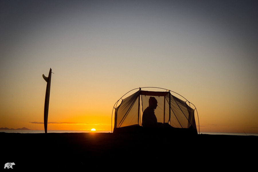 Tent Sunrise by Chris  Burkard on 500px.com