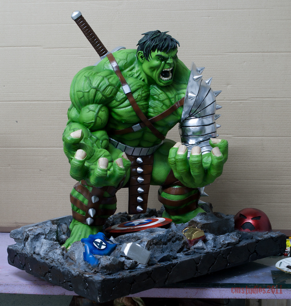 Photograph WW Hulk 1:4 Commission for Zod by Joel Zartiga on 500px