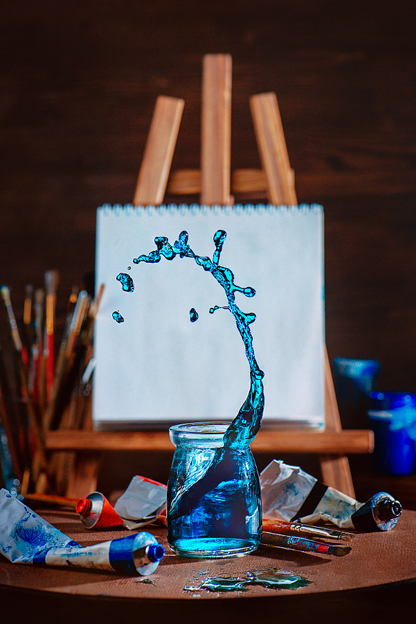 Painting waves by Dina Belenko on 500px.com