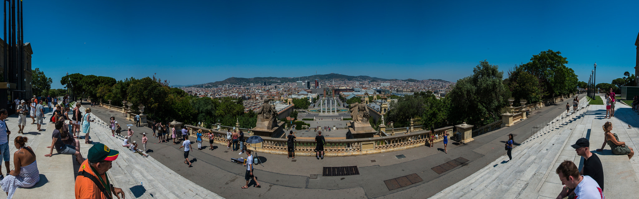 Photograph Barcelona Panorama by Ammar Shaban on 500px