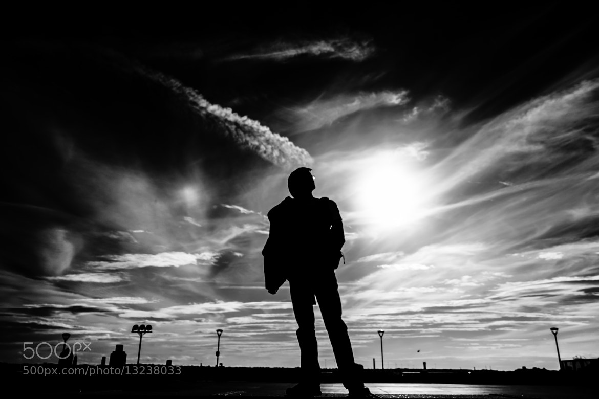 Photograph My silhouette. by Marcin Pekalski on 500px
