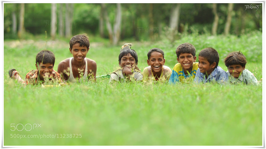 Photograph Childhood Fun by Jaskiran Singh Batra on 500px