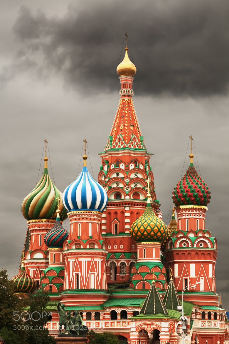 Photograph Saint Basil's Cathedral by Vasilis Tsikkinis on 500px