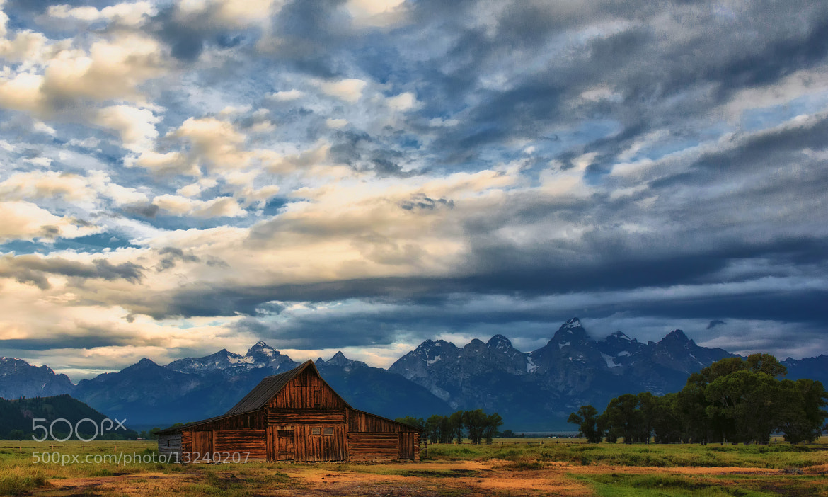 Photograph Cloud Cover at the Barn by Jeff Clow on 500px