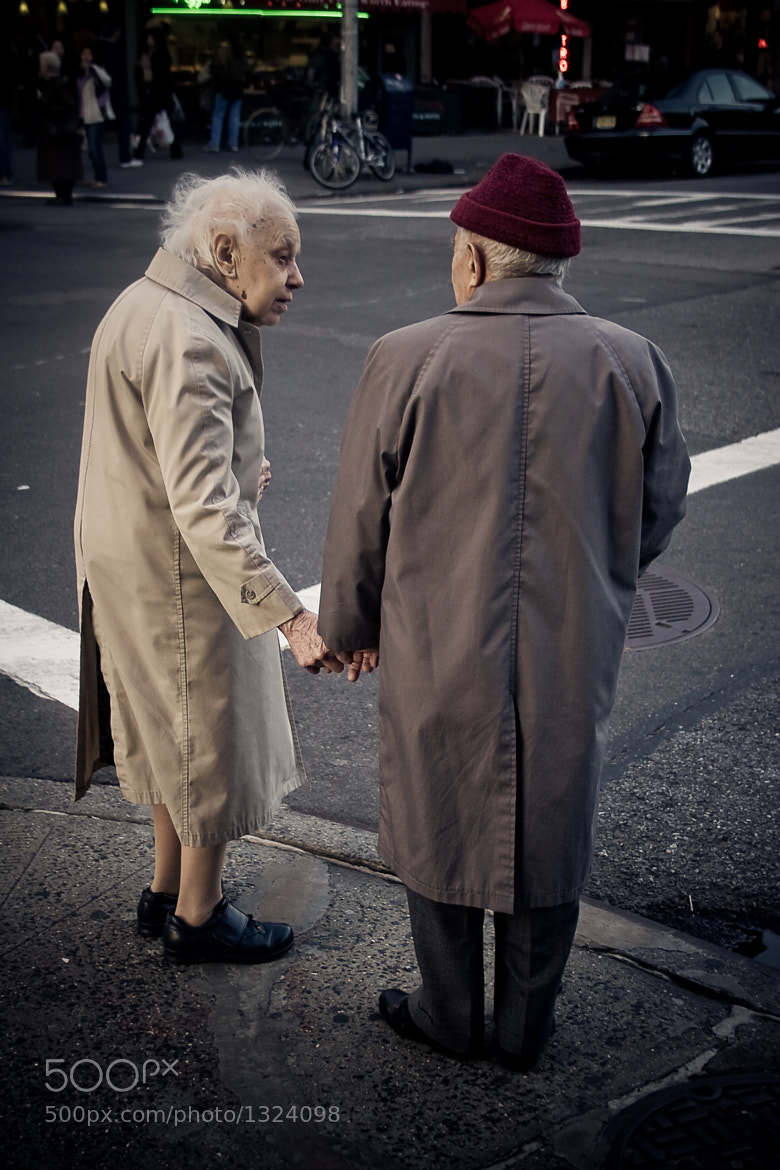 Photograph Elderly Couple in New York by Tracey Tomtene on 500px