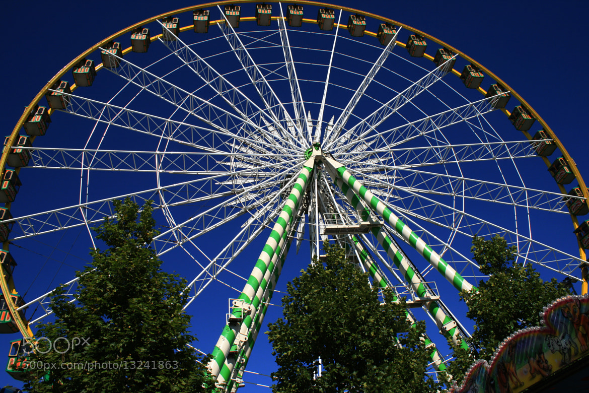 Photograph The big wheel of the Schuberfouer by Marc Ben Fatma on 500px