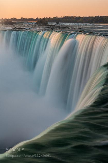 Photograph Niagara Falls at Dawn by Glenn Nagel on 500px