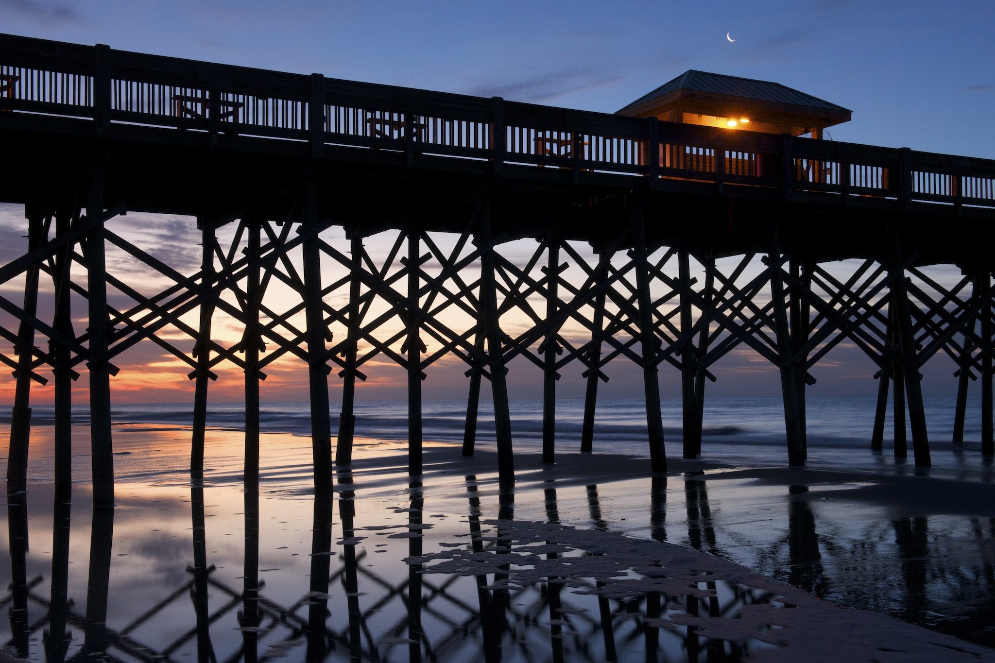 Photograph folly beach pier by Tony Sweet on 500px