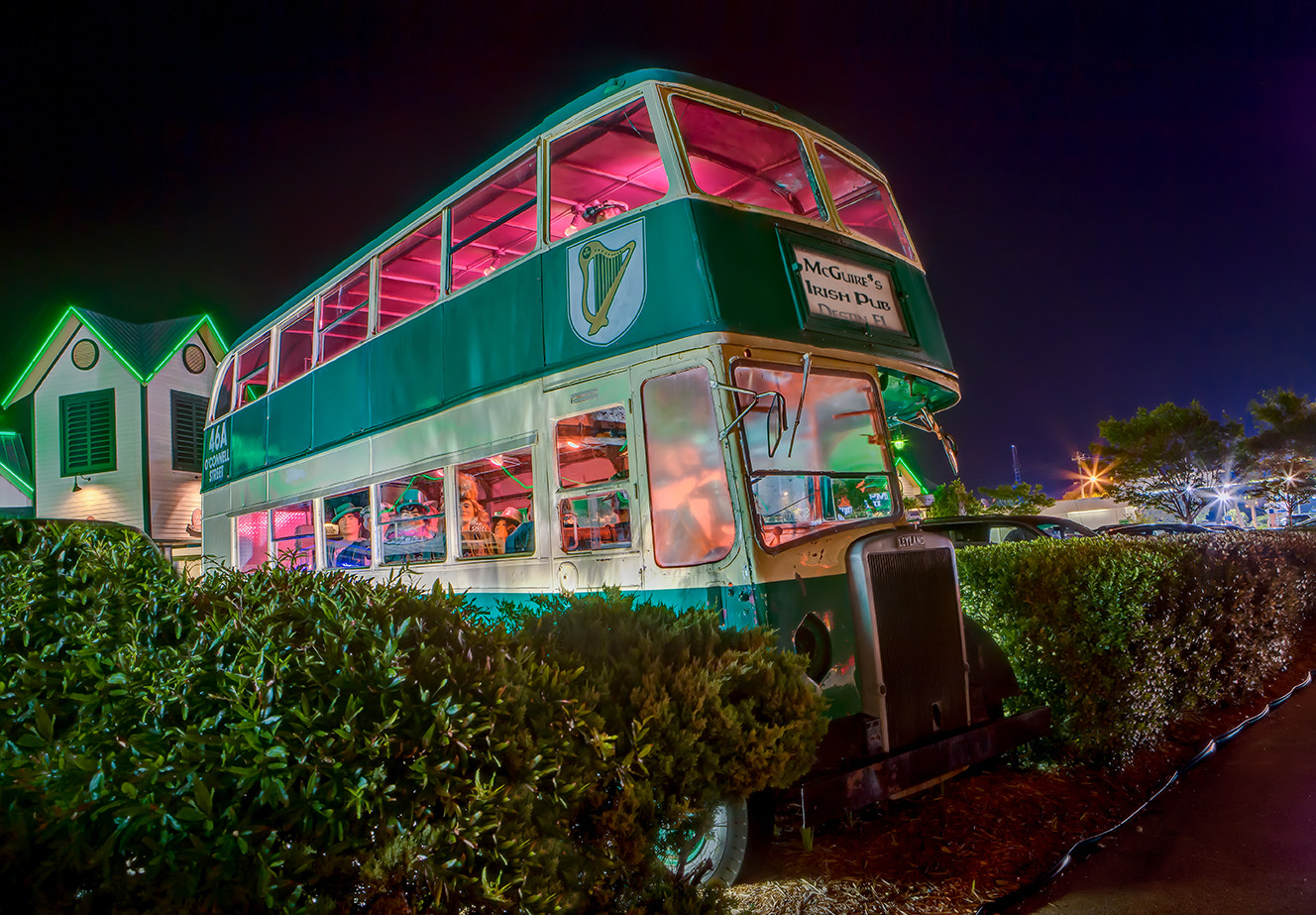 Photograph McGuire's Irish Pub Bus by Ellen Yeates on 500px