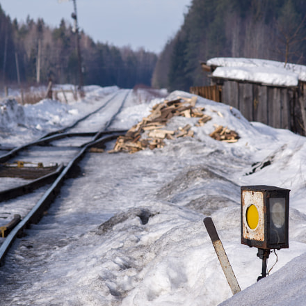 Old Railway near Kostroma, RICOH PENTAX K-3, smc PENTAX-F 135mm F2.8 [IF]