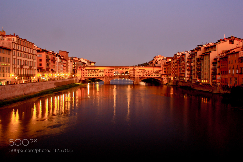 Photograph Ponte Vecchio, Firenze by Gonzalo Magot on 500px