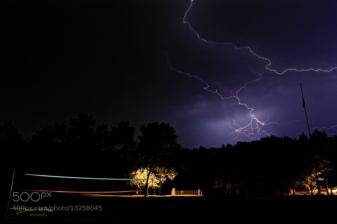 Photograph Late Night Lightning by Daniel Kretsu on 500px
