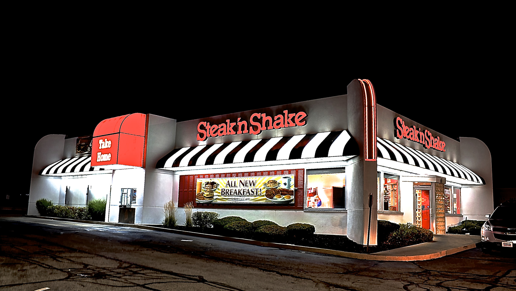 Photograph Steak N Shake by Phil Donahue on 500px