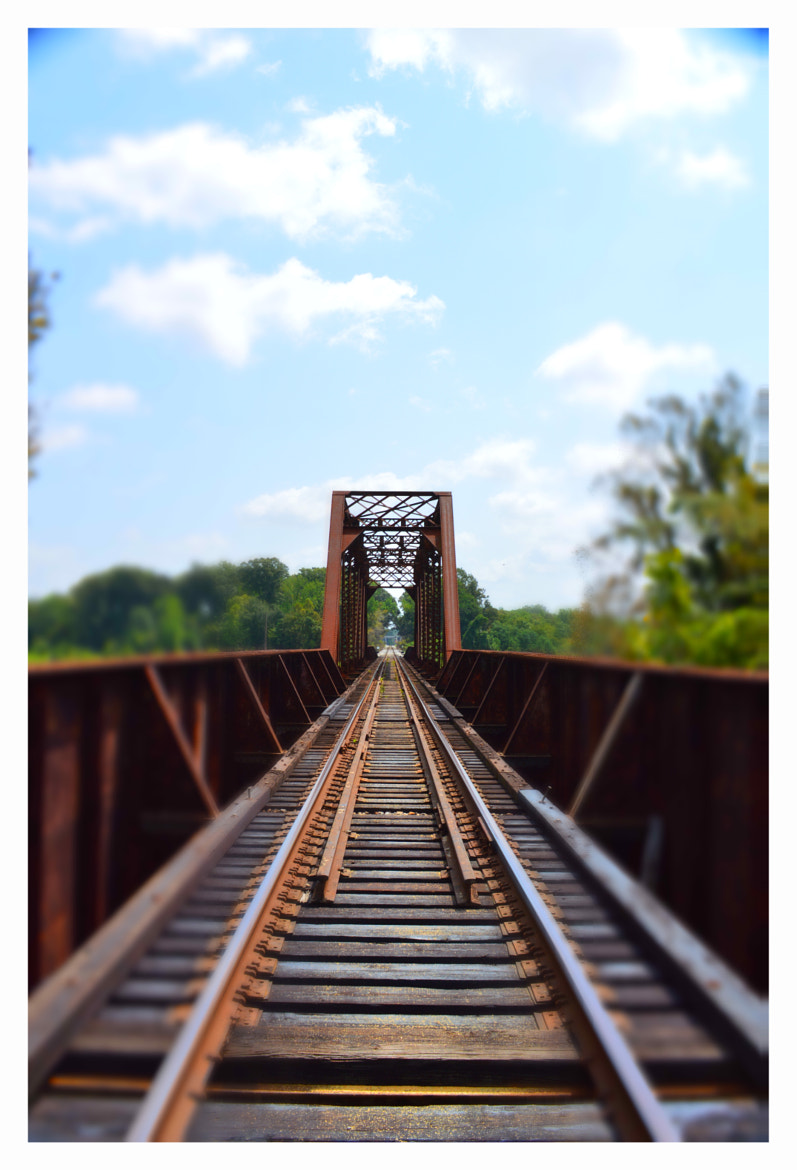 Photograph Train Tressel Off State Street by Stacy Baugher on 500px