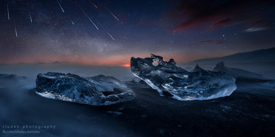 Geminids arriving by Cludes Tomato on 500px.com