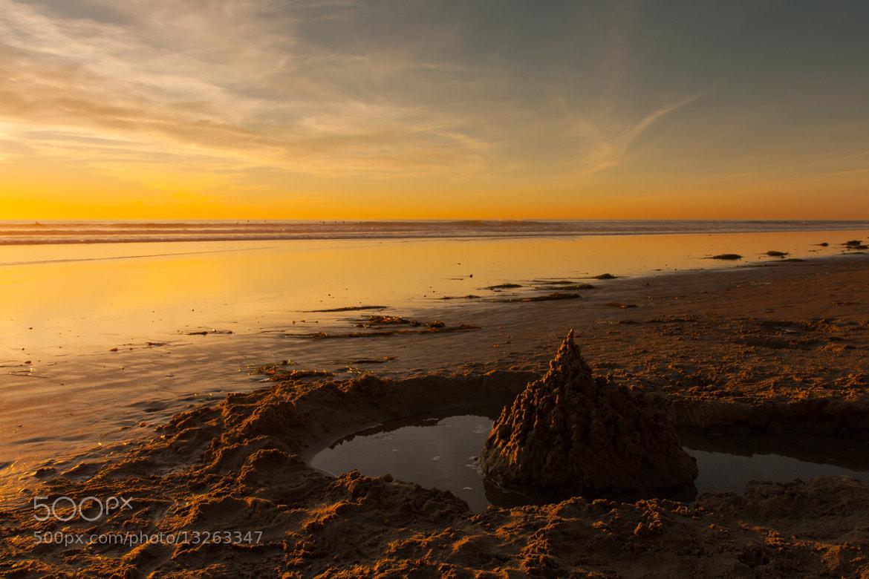 Photograph eroded sandcastle by Steve Hardy on 500px