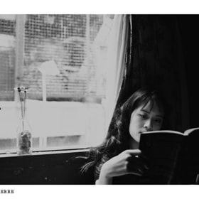 I , She & Her Book  by Quang Pierre (quangpierre)) on 500px.com