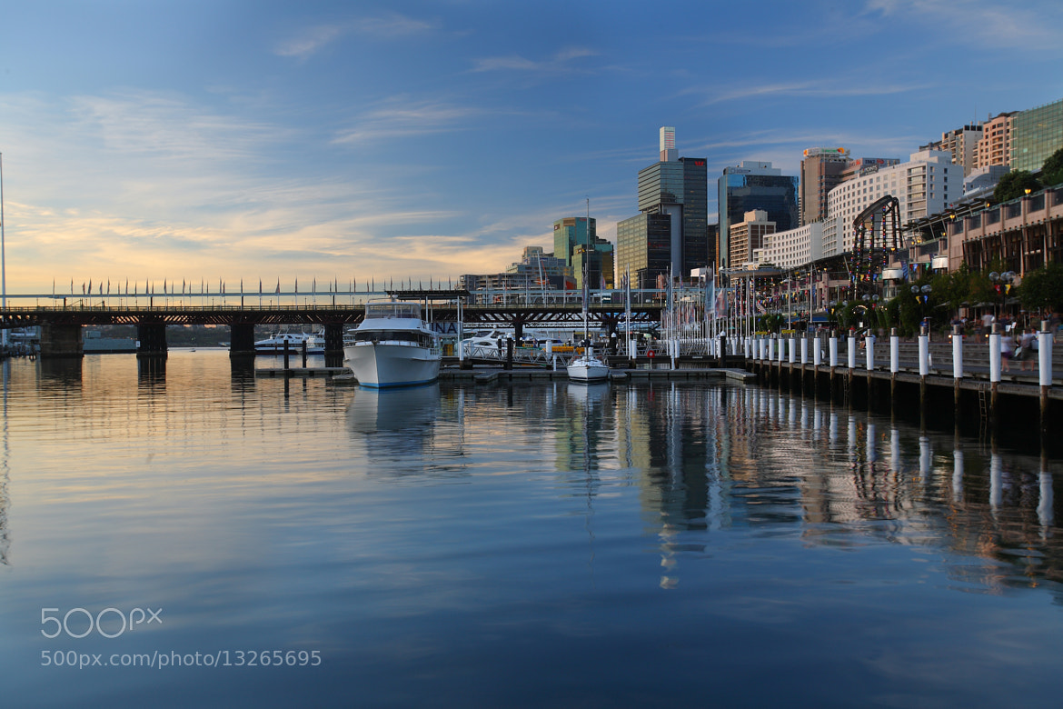 Photograph Darlington Harbor, Sydney by Anush Krishnaswami on 500px