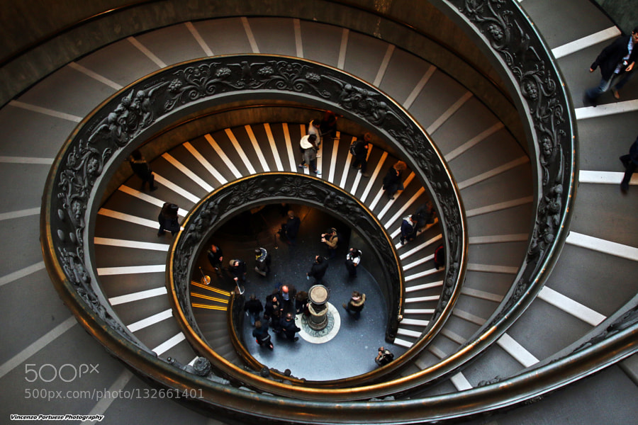 Spiral Staircase by Vincenzo Portuese