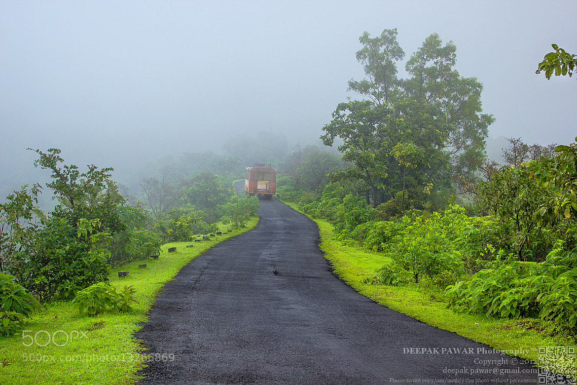 Photograph Driving across Madhe ghat by Deepak Pawar on 500px