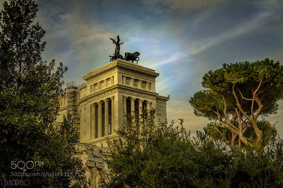 Old Rome.. by Joe Blackvaio