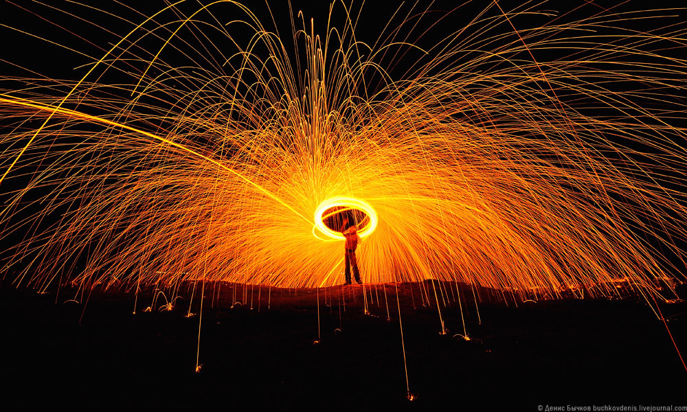 Photograph Steel wool by Denis Bychkov on 500px