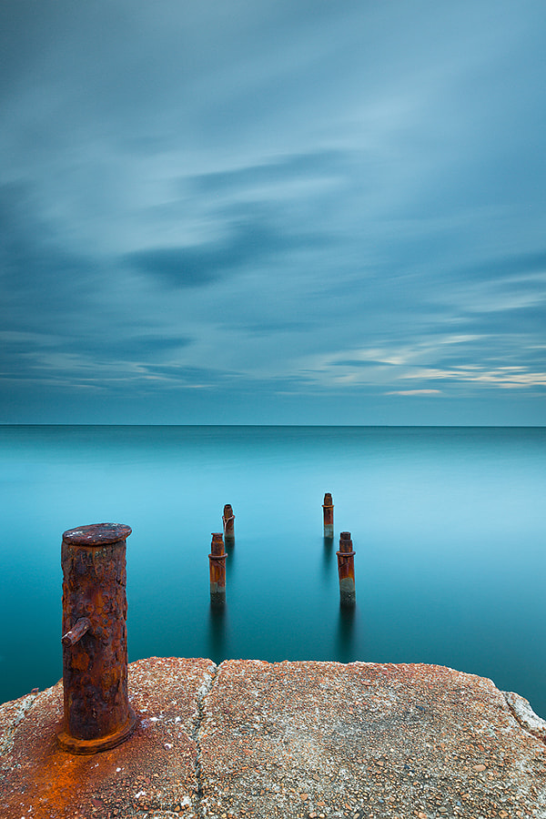 Photograph The Rusty Pier by Francesco Gola on 500px