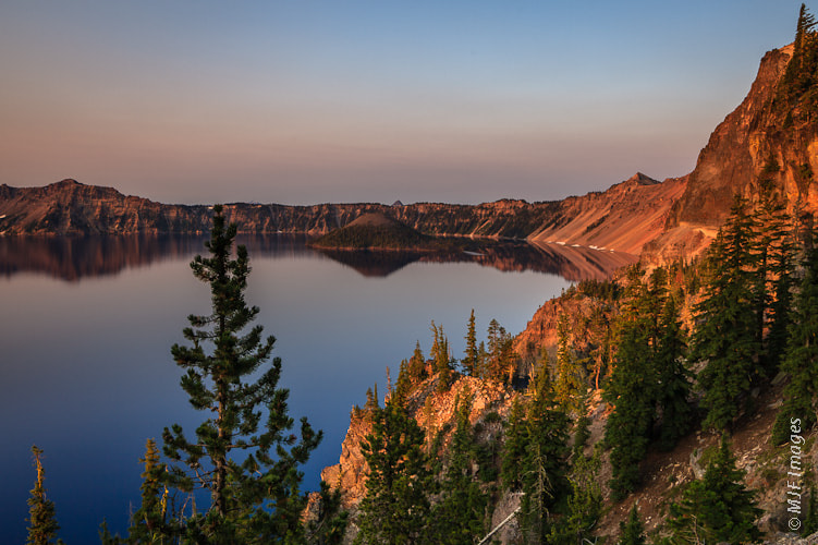 Photograph Crater Lake Morning by Michael Flaherty on 500px
