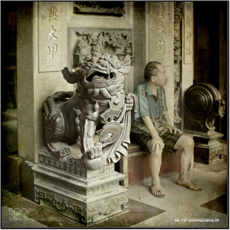 Photograph 廟口的石獅 by Al Alpha on 500px