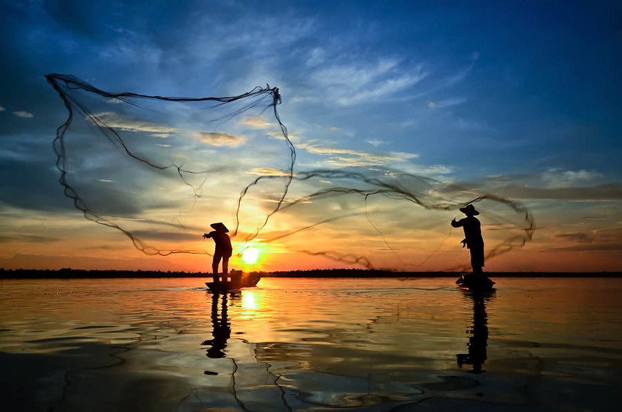 Photograph 2 Fisherman by Chanwit Whanset on 500px