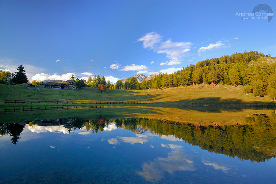 Photograph Riflessi di montagna by Andrea Camos on 500px