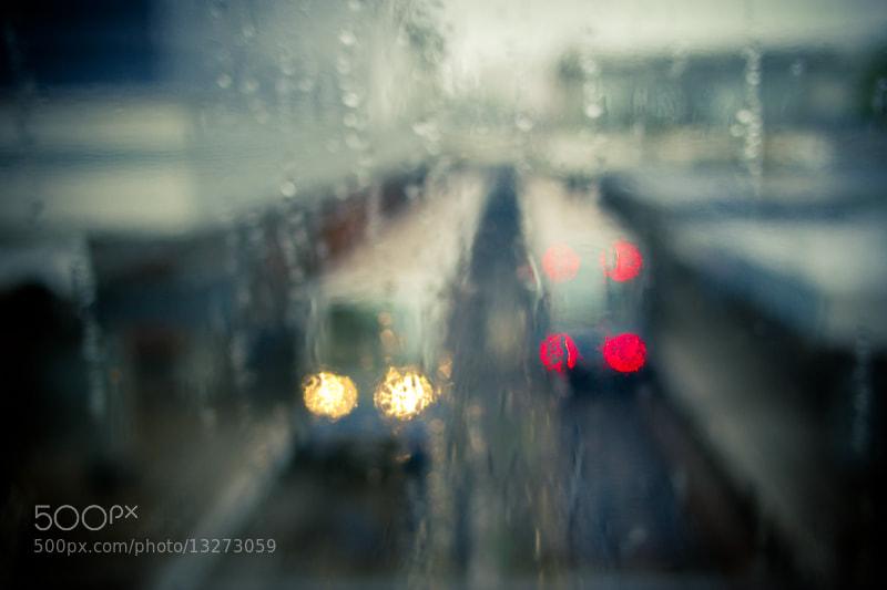 Photograph Rain & Trains by O' Nikolaitsch on 500px