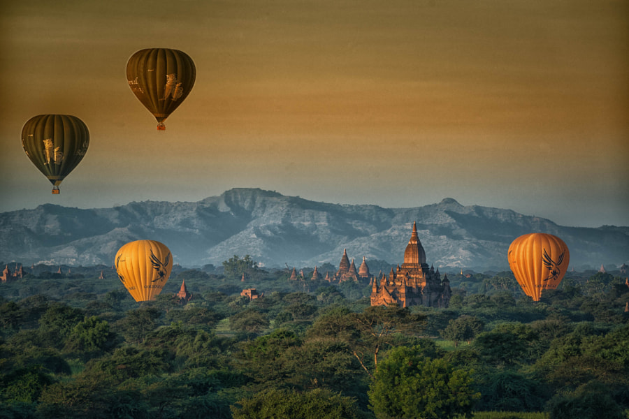 Bagan Myanmar by enrico barletta on 500px.com