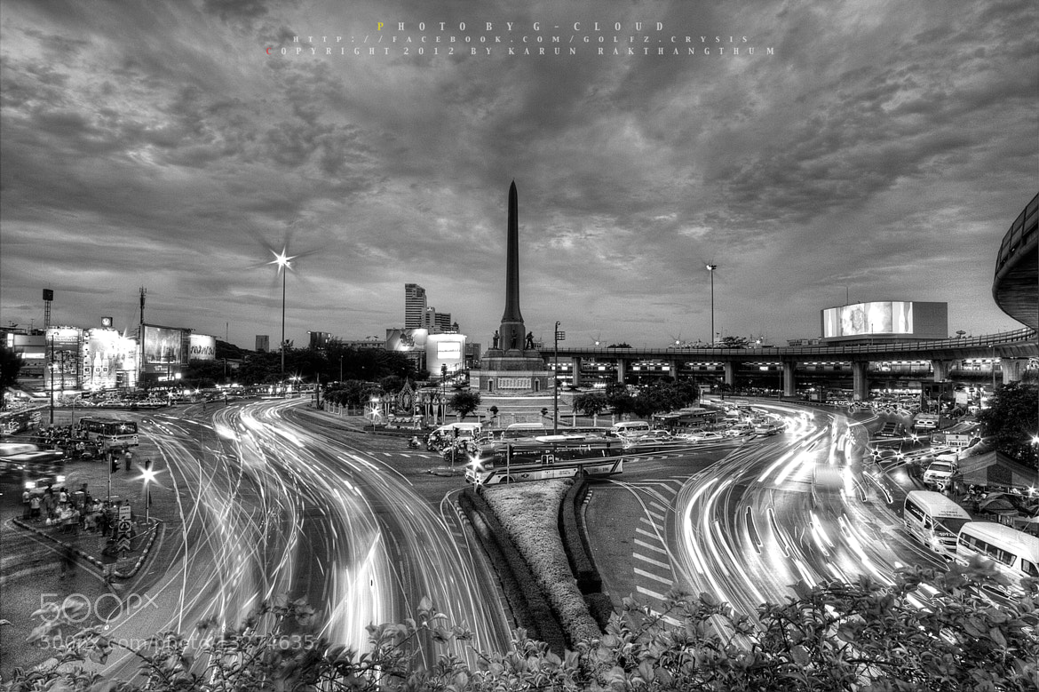 Photograph Victory Monument Thailand by Golfzx Cloud on 500px