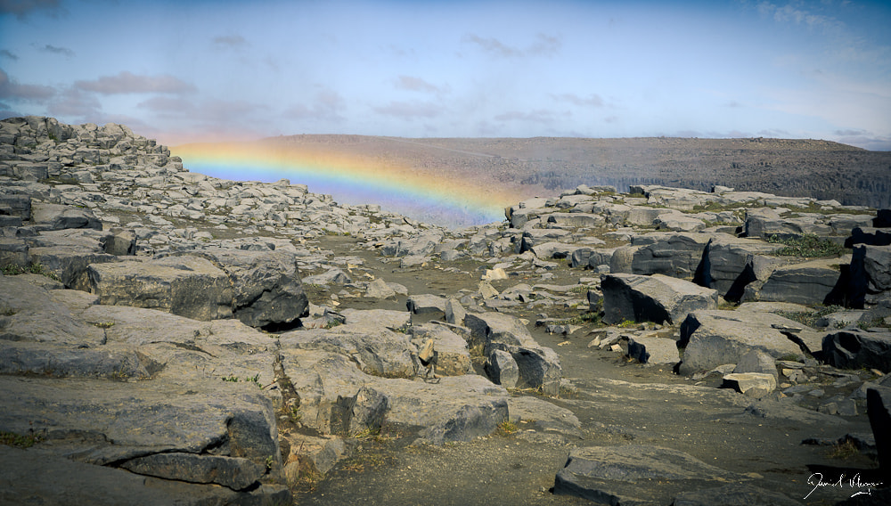 Photograph Rainbow over Dettifoss by Daniel Kluge on 500px