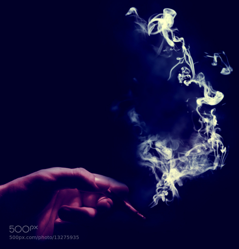 Photograph A man smoke ! by Açelya Yiğit on 500px