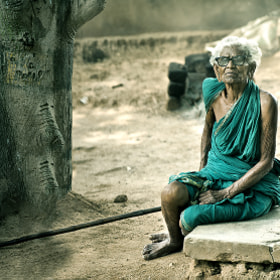 indian old lady by Nasser  AlOthman (nasser-alothman)) on 500px.com