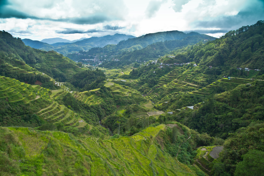 Banaue Rice Terraces by Marian Makapix Kaczmarczyk on 500px.com