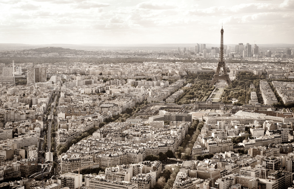 Photograph Paris, aerial view by Angelica Borsellino on 500px