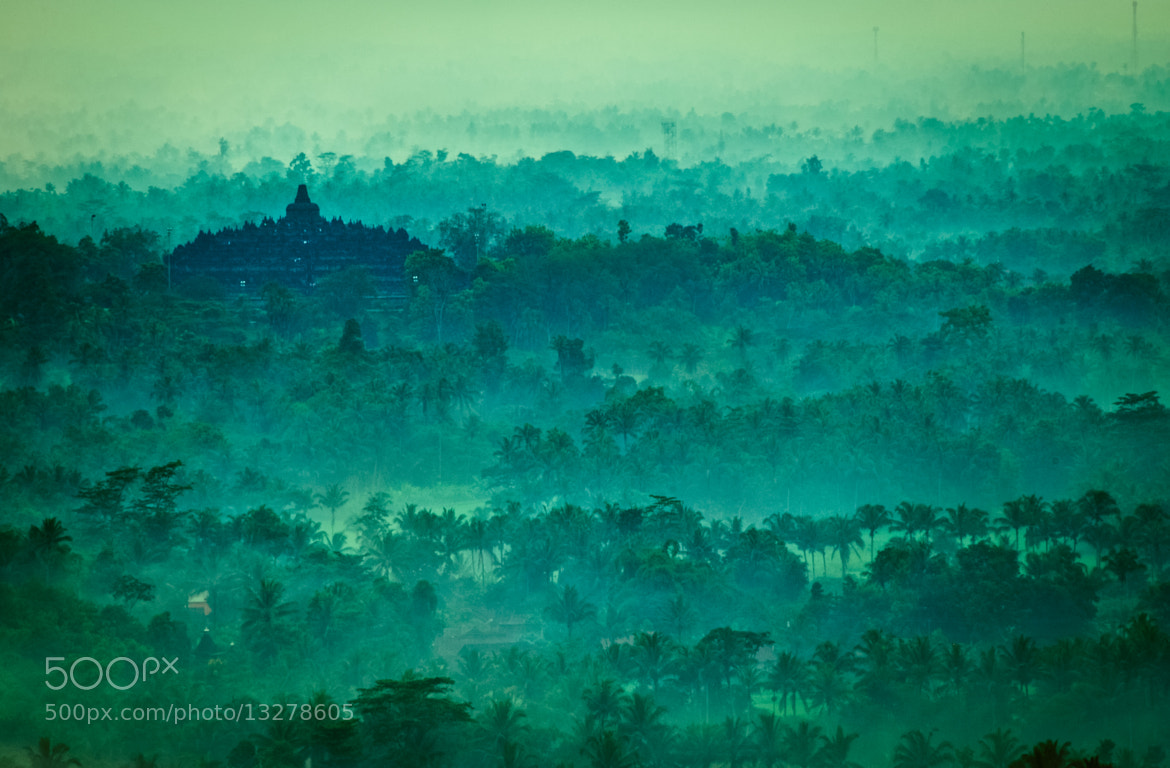 Photograph Cloudy Morning @ Borobudur by Margo Ono on 500px