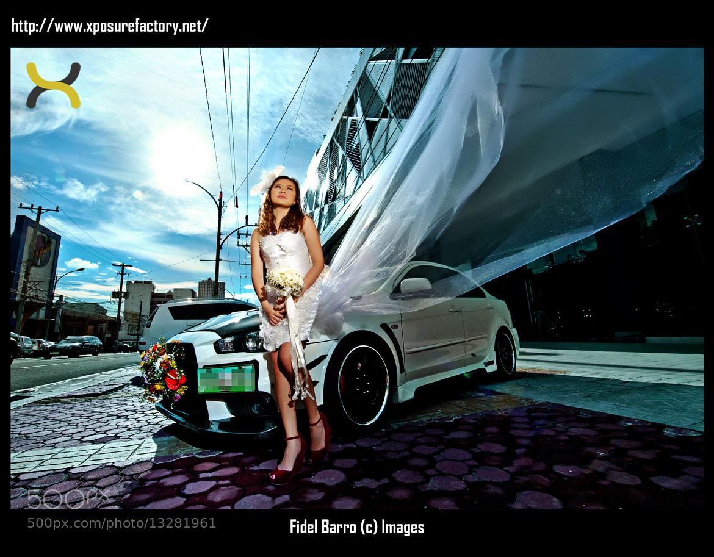 Photograph Bridal Car Goddess by Fidel Barro II on 500px