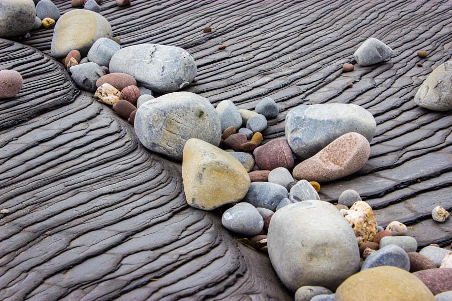 Pebbles on Slate