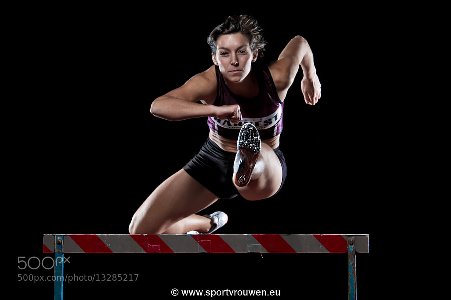 Photograph Project Sportswoman : Athletics - Hurdle by Jim De Sitter on 500px