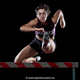 Project Sportswoman : Athletics - Hurdle by Jim De Sitter (jimdesitter)) on 500px.com