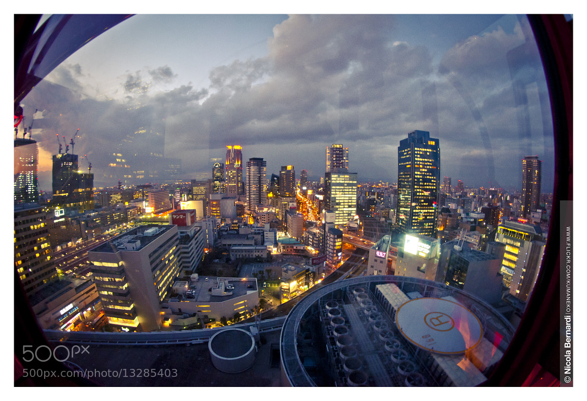 Photograph Osaka from the Eye by Nicola  Bernardi  on 500px